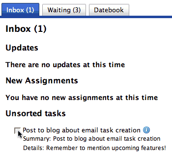 ...and a new task is created in Steve\'s Enleiten inbox.
